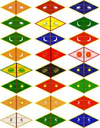 Maratha Regular Flags Set