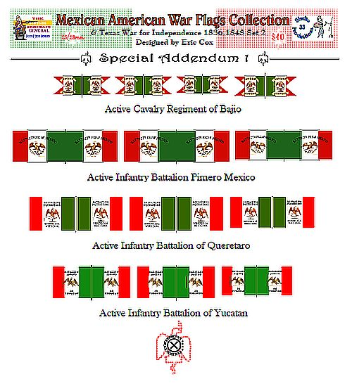 Mexican Supplement Flag Set