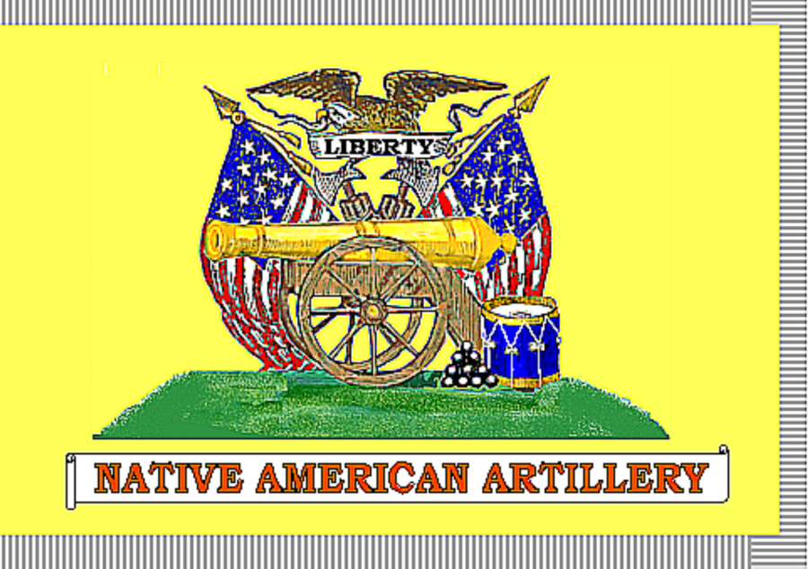 Native American Artillery New Orleans Volunteers