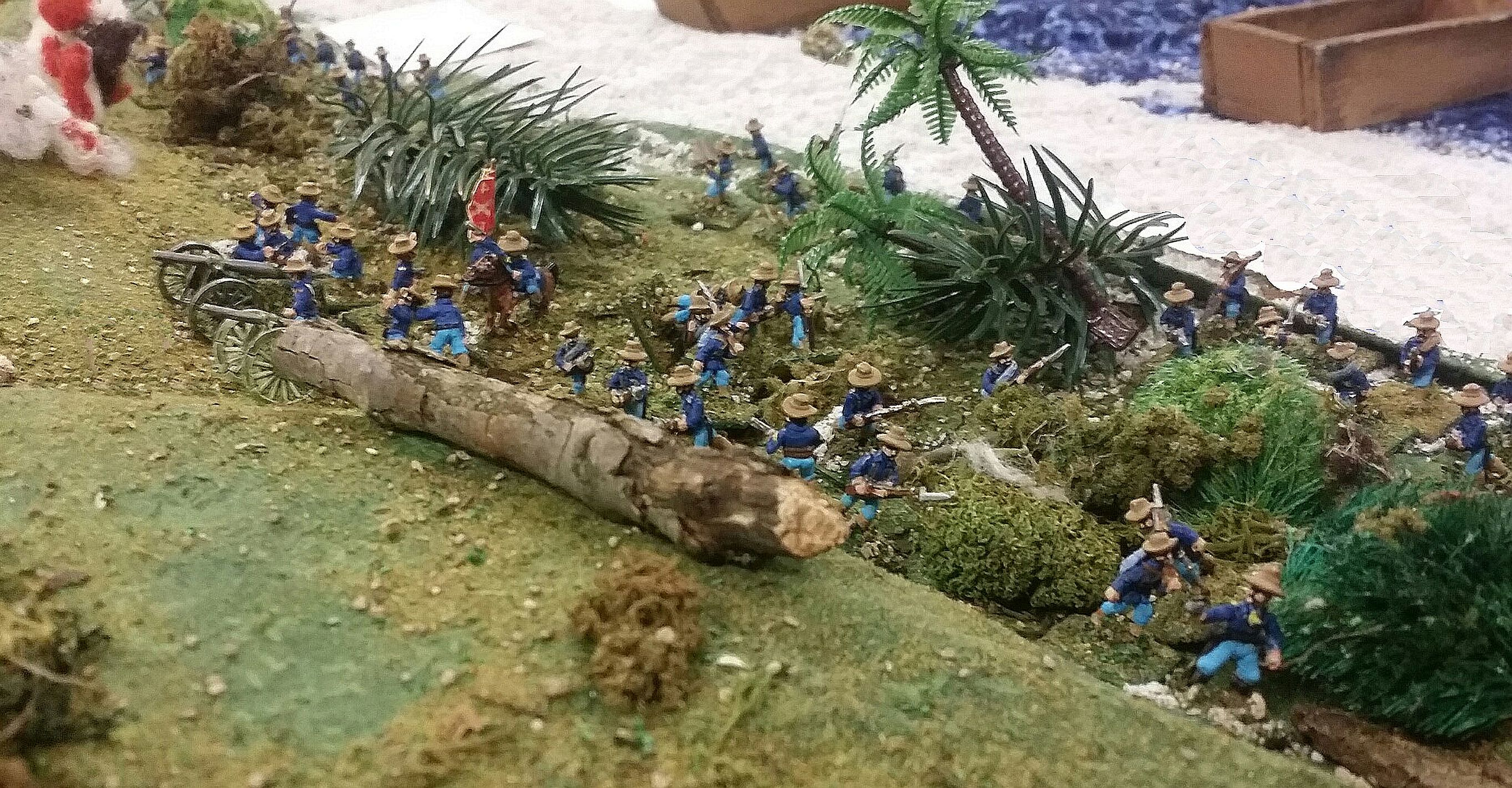 US Artillery Goes Into Action