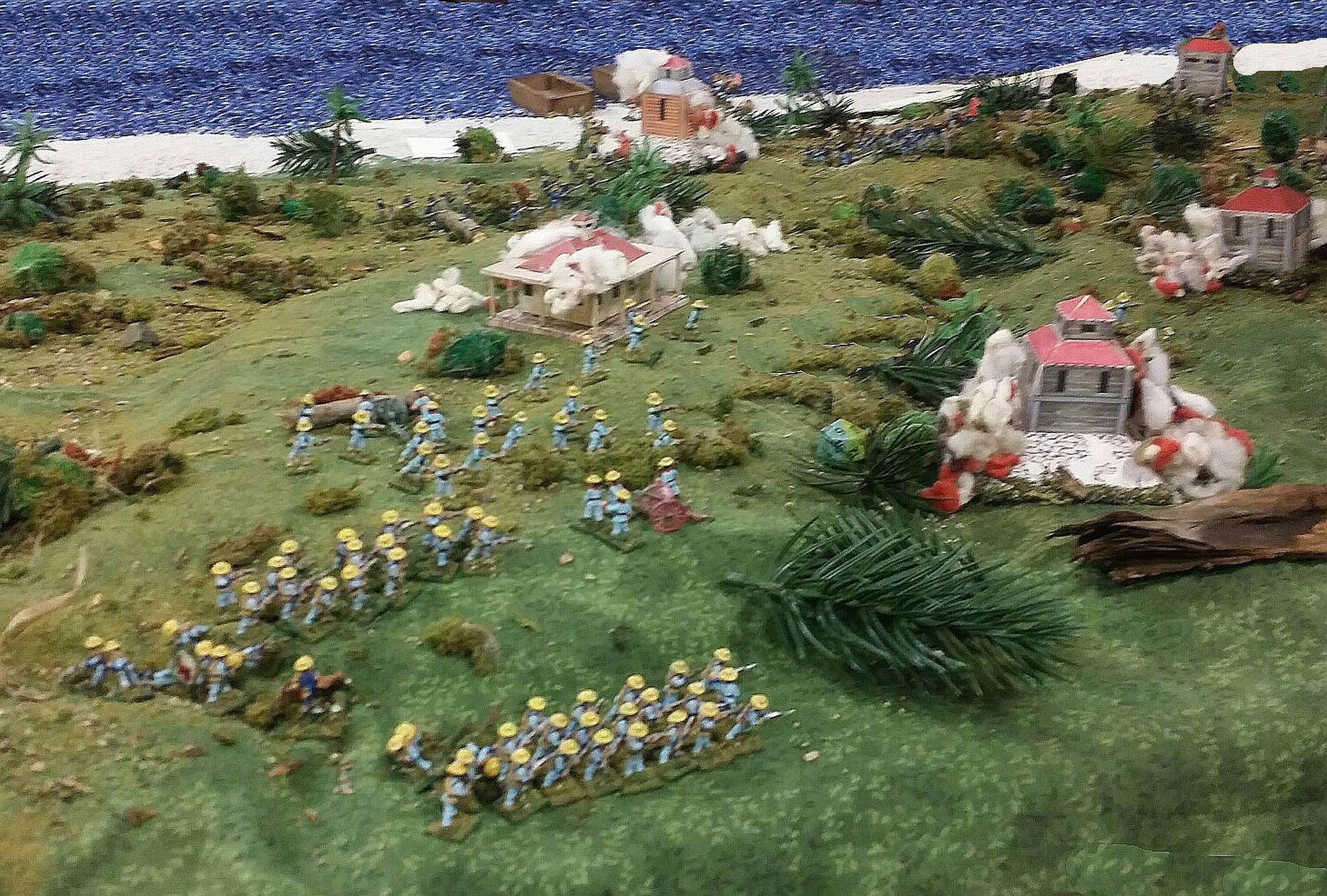 Spanish Infantry Attack